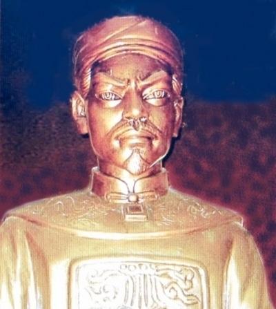 Tượng chúa Nguyễn Hoàng.