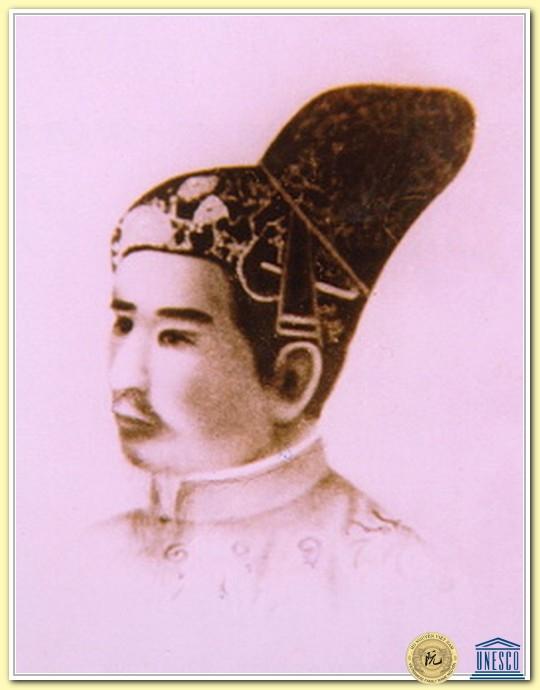Chân dung vua Gia Long do một họa sĩ người Pháp vẽ vào thế kỷ XIX.